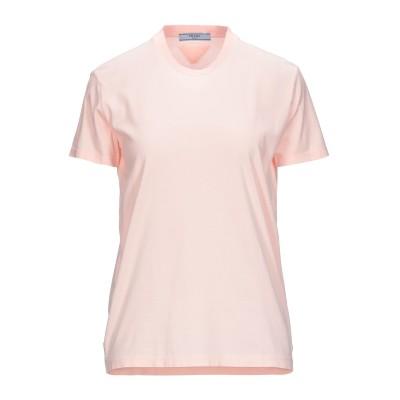 プラダ PRADA T シャツ ライトピンク XS コットン 100% T シャツ