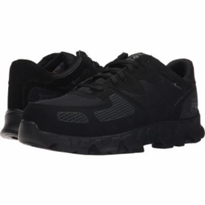ティンバーランド Timberland PRO メンズ スニーカー シューズ・靴 Powertrain Alloy Safety Toe ESD Black Synthetic/Ripstop Nylon
