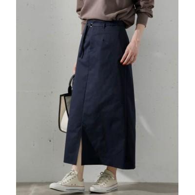 Sonny Label/サニーレーベル 【WEB限定】ベルト付きロングタイトスカート NAVY FREE