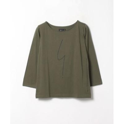 (agnes b. FEMME/アニエスベー ファム)SE30 TS ポワンディロニーTシャツ/レディース カーキ