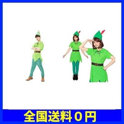 Party City コスプレ ファンタジーボーイ男女セット メンズ レディース 緑 [2人セット]