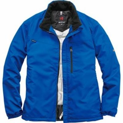 バートル(BURTLE) 作業服 軽防寒ジャケット メンズ レディース 42/ロイヤルブルー 3180 【作業着 ワークウエア 仕事着 まとめ買い ユニ