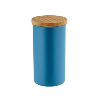 高桑金属 ステンレス コーヒーキャニスター L ブルー(新タイプ) 408481 品番:FKK0404