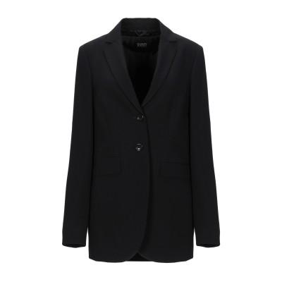SEVENTY SERGIO TEGON テーラードジャケット ブラック 42 ポリエステル 72% / レーヨン 23% / ポリウレタン 5%