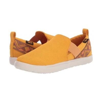 Teva テバ レディース 女性用 シューズ 靴 スニーカー 運動靴 Voya Slip-On - Cayambe Sunflower