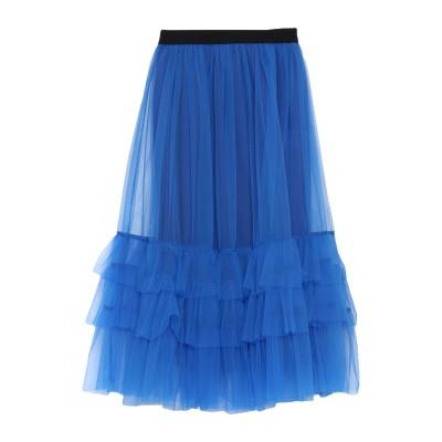 VICOLO 7分丈スカート ブルー one size ナイロン 100% 7分丈スカート