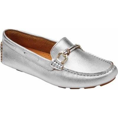 ロックポート レディース スリッポン・ローファー シューズ Women's Rockport Bayview Loafer Sterling Soft Tumbled Leather