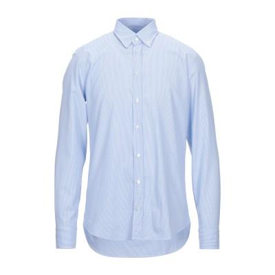 BASTONCINO シャツ スカイブルー 40 コットン 100% シャツ