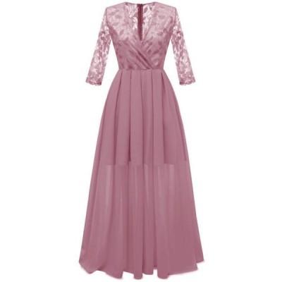3色 カラードレス パーティドレス ウェディングドレス ロング 花嫁 披露宴 二次会 発表会 結婚式 S~2XL