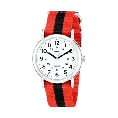 タイメックス 腕時計 Timex TW2P680009J ユニセックス Weekender Varsity Row アナログ ディスプレイ クォーツ レッド _no_color_