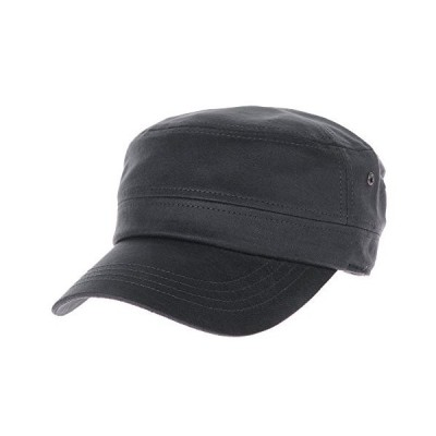 WITHMOONSミリタリー 迷彩柄キャップ軍帽カデット キャップ コーティッド フォックス レザー アーミー ミリタリーハット アーミーキャップC