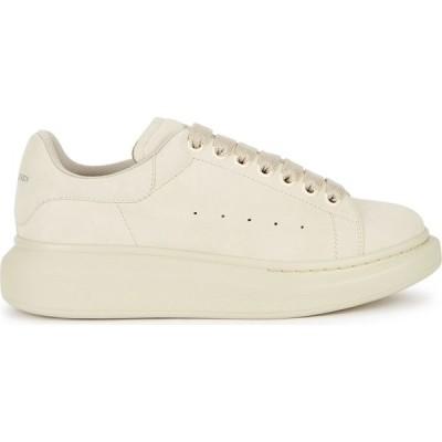 アレキサンダー マックイーン Alexander McQueen レディース スニーカー シューズ・靴 Larry cream suede sneakers Natural