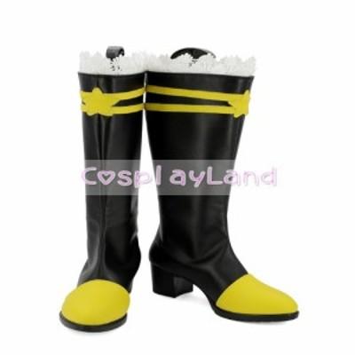 高品質 高級 オーダーメイド ブーツ 靴 東方Project 風 Toho Project Kirisame Marisa Cosplay Boots