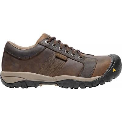 キーン Keen メンズ ブーツ ワークブーツ シューズ・靴 KEEN LA Conner ESD Aluminum Toe Work Boots Cascade Brown