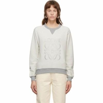 ロエベ Loewe レディース スウェット・トレーナー トップス Grey Anagram Sweatshirt Grey