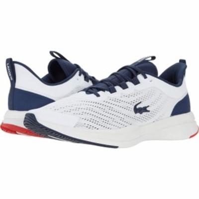 ラコステ Lacoste メンズ スニーカー シューズ・靴 Run Spin 0721 1 White/Navy