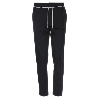 LOW BRAND パンツ ブラック 30 コットン 52% / ナイロン 42% / ポリウレタン 6% パンツ