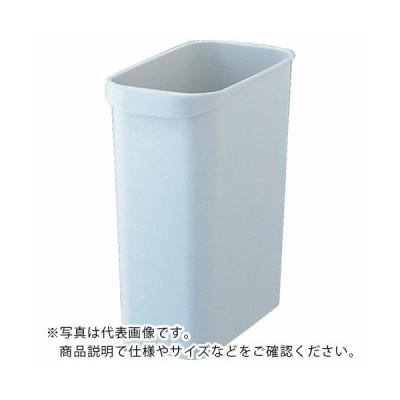 TRUSCO くず入れ 角型 18.0L グレー ( TGYC710 ) トラスコ中山(株)