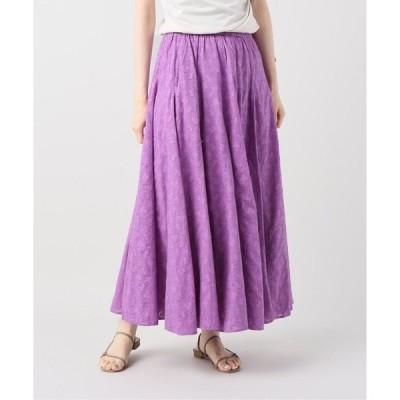 スカート 【NE QUITTEZ PAS/ヌキテパ 】コットンジャガードスカート【洗濯機弱】◆