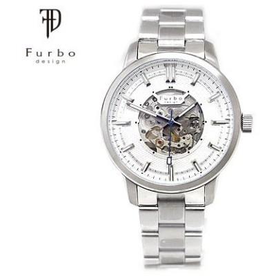 Furbo フルボ F8203SISS POTENZA ポテンザ メンズ 腕時計 自動巻 シルバー×ホワイト文字盤 アナログ