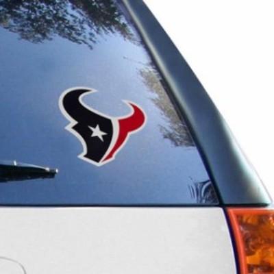 Stockdale ストックデール スポーツ用品  Houston Texans 6 x 6 Logo Die-Cut Repositionable Vinyl Decal
