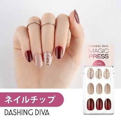 ネイルシール ネイルチップ マジックプレス ジェルネイル Dashing Diva MDR507OV