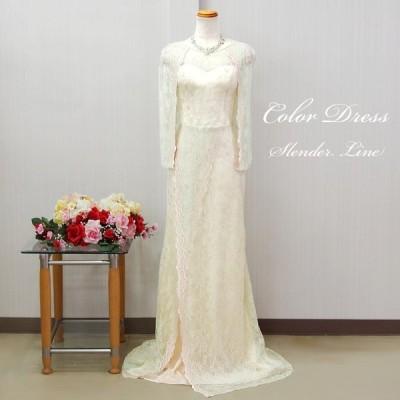 カラードレス 結婚式 演奏会ロングドレス 発表会 二次会 フォーマルドレス お呼ばれ 謝恩会 袖あり cd7258