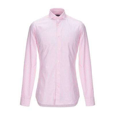 カリバン CALIBAN シャツ ピンク 39 コットン 100% シャツ