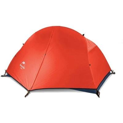 Naturehike Naturehike 1人用 グランドシート付 赤い 自立式 二重層テント 3シーズン アウトドアキャンピング 自転車ツーリング