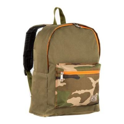 エバーレスト バックパック・リュックサック バッグ メンズ Basic Color Block Backpack (Set of 2) Olive/Camo