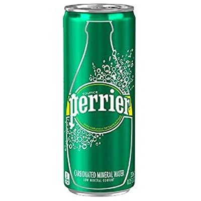 ペリエ (Perrier) オリジナル 炭酸水 缶 330ml 「直輸入品] ×24本