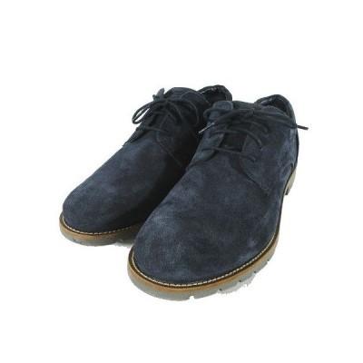 【中古】ROCKPORT ロックポート カジュアルシューズ 靴 スエード truTECH M79537 サイズ26.5cm ネイビー メンズ 【ベクトル 古着】