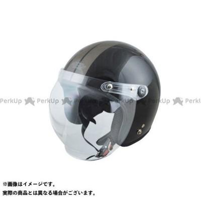 SPEEDPIT ジェットヘルメット 【ビッグサイズ!】 XX-606 ジェットヘルメット カラー:ブラック/ガンメタ サイズ:XXL/62-64c…