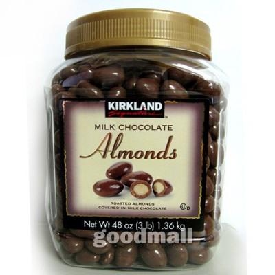 ■コストコ■【カークランド】 チョコレートアーモンド 1.36kg(585950)◆goodmall_costco◆