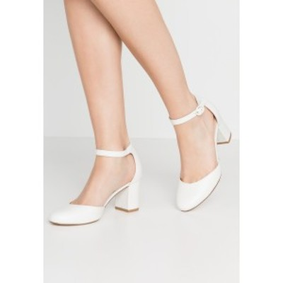 アンナフィールド レディース ヒール シューズ LEATHER - Classic heels - white white