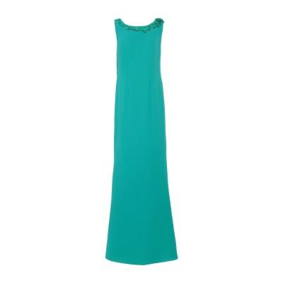 ANTONIO D'ERRICO ロングワンピース&ドレス グリーン 42 ポリエステル 100% ロングワンピース&ドレス