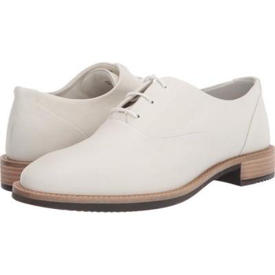 エコー ECCO レディース ローファー・オックスフォード シューズ・靴 Sartorelle 25 Tailored Tie Shadow White