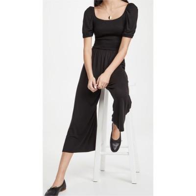 ビービーダコタ BB Dakota レディース オールインワン ジャンプスーツ ワンピース・ドレス Smock Party Jumpsuit Black