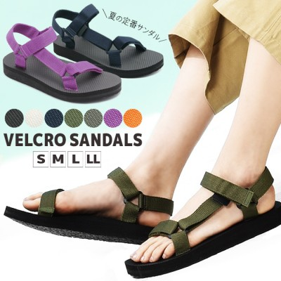 サンダル スポーツサンダル 選べる7カラー 軽量 ベルクロサンダル レディース 靴 スポサン 軽い 靴 トドス TODOS TO-282