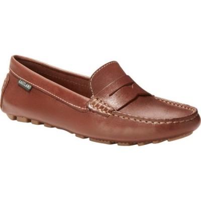イーストランド Eastland レディース スリッポン・フラット シューズ・靴 Patricia Driving Moc Brown Leather