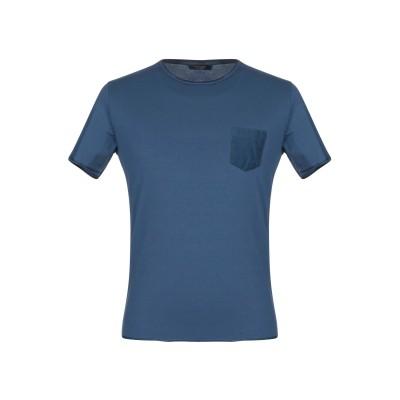 グラン サッソ GRAN SASSO T シャツ ブルー 48 コットン 90% / ポリウレタン® 10% T シャツ