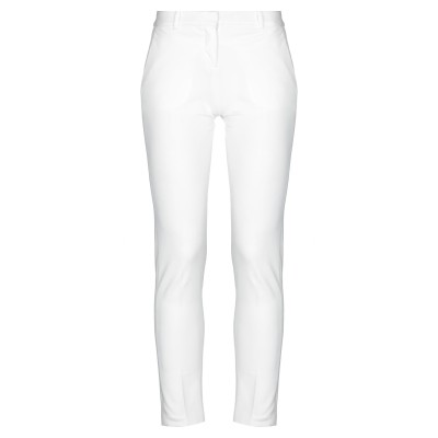 チルコロ 1901 CIRCOLO 1901 パンツ ホワイト 40 コットン 93% / ポリウレタン 7% パンツ
