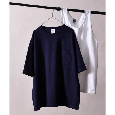 """tシャツ Tシャツ 【NOVEMBER """"6"""" TEEN】◆【 ZOZO限定 】ポケット Tシャツ&タンクトップレイヤードセット"""
