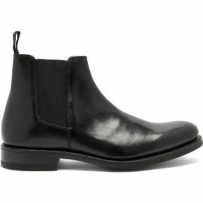 グレンソン Grenson メンズ ブーツ チェルシーブーツ シューズ・靴 Declan leather Chelsea boots Black