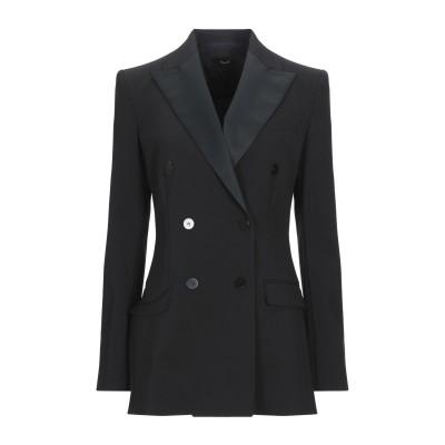 セオリー THEORY テーラードジャケット ブラック 12 ポリエステル 54% / ウール 44% / ポリウレタン 2% テーラードジャケット
