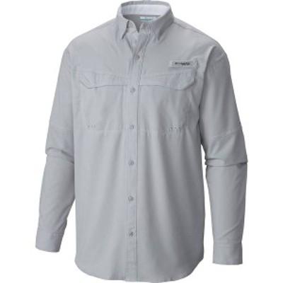 コロンビア メンズ シャツ トップス Columbia Men's PFG Low Drag Offshore Long Sleeve Shirt Cool Grey