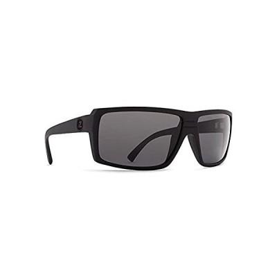 輸入商品 VonZipper Snark メンズ スポーツウェア サングラス - ブラックサテン/グレー/フリーサイズ 人気商品