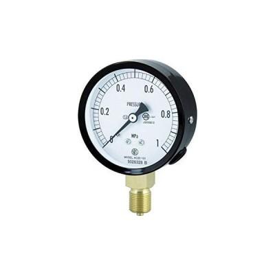 長野計器 AC201316.0MP長野 普通形圧力計(A枠立形・φ75・G3/8B・0.0〜6.00Mpa)4984391