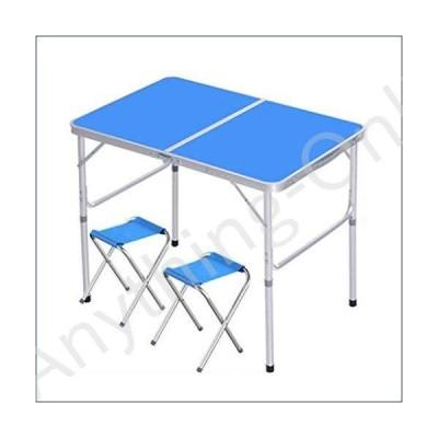 ★新品★WGXYQ Folding Table Camping Table Outdoor Fold Camping Table Portable Light Aluminum Alloy Suitcase Size for Self-Driving Tour Garden 90x6