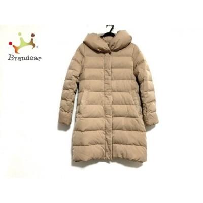 ルクールブラン le.coeur blanc ダウンコート サイズ38 M レディース ブラウン 冬物  値下げ 20200521